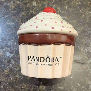 Pandora Ceramic Cupcake Jewelry Box